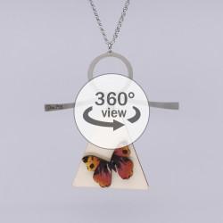 Dixica - 360° Pogled - Leptir na drvu 2