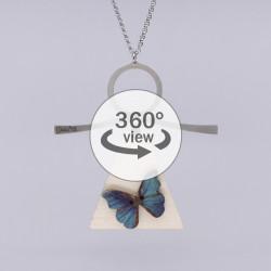 Dixica - 360° Pogled - Leptir na drvu 4