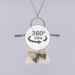 Dixica - 360° Pogled - Leptir na drvu 3