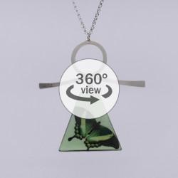 Dixica - 360° Pogled - Zeleni leptir