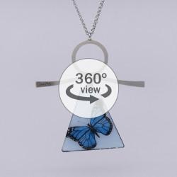 Dixica - 360° Pogled - Plavi leptir