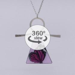 Dixica - 360° Pogled - Rozi leptir