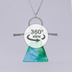 Dixica - 360° Pogled - Zeleno-plavo