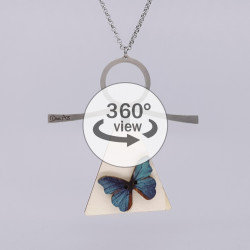 Dixica - 360° Pogled - Leptir na drvu 5