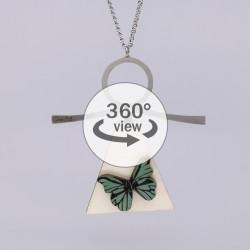Dixica - 360° Pogled - Leptir na drvu 6