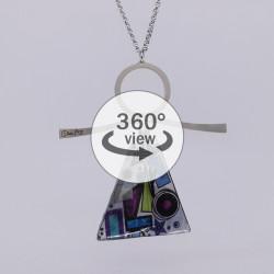 Dixica - 360° Pogled - Ljubičasta apstrakcija