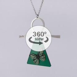 Dixica - 360° Pogled - Zeleni leptirko