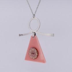 Dixica - Pleksiglas roza 2