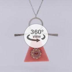 Dixica - 360° Pogled - Pleksiglas roza 2