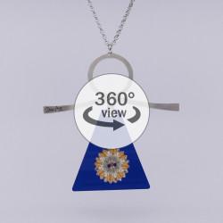 Dixica - 360° Pogled - Plavi pleksiglas