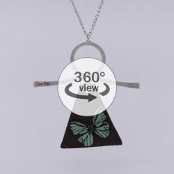 Dixica - 360° Pogled - Leptir na koži