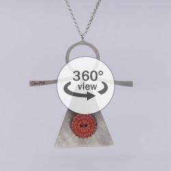 Dixica - 360° Pogled - Gumb na inoxu