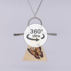 Dixica - 360° Pogled - Leptir na drvu 1