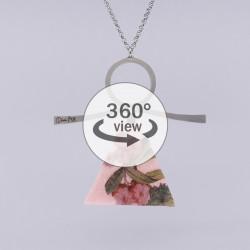 Dixica - 360° Pogled - Cvijeće na filcu 2