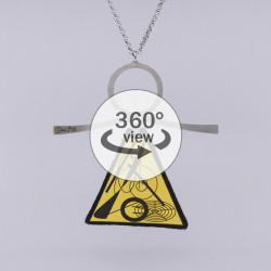 Dixica - 360° Pogled - Žuto crni nered