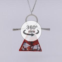 Dixica - 360° Pogled - Polje makova