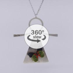 Dixica - 360° Pogled - Leptir na inoxu